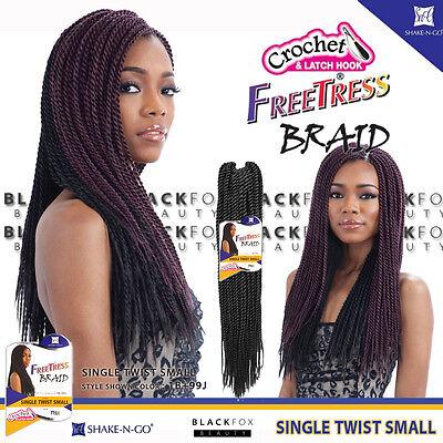 FREETRESS BRAID SINGLE TWIST SMALL BULK CROCHET SENEGAL BRAIDING - Single Twist