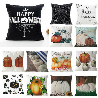 Happy Halloween 18+ (Happy Halloween Square Pillow Case polyester Cushion Cover Home Sofa Decor)