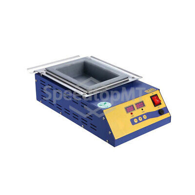 New Solder Pot Desoldering Bath Melting Tin 1000w 5700g Lead-free Square 110v