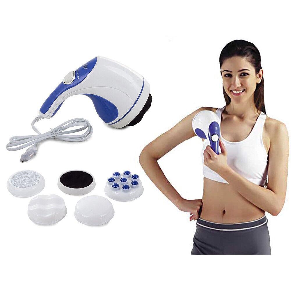 Massagegerät Klopffunktion Vibration Handmassagegerät Schulter Rücken