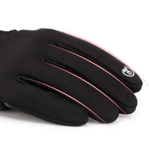 Winter Handschuhe Damen Herren Thermo Warme Fahrradhandschuhe Touchscreen S-XXL