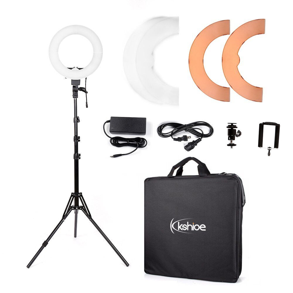 """12"""" 180Pcs LED Ring Light Dimmable 5500K for SmartPhone/Camera with Light Stand -   10 - 12″ 180Pcs LED Ring Light Dimmable 5500K for SmartPhone/Camera with Light Stand"""