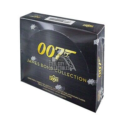 2019 Upper Deck James Bond Collection Hobby Box