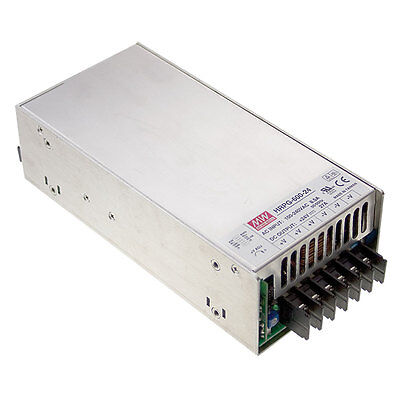 Mean Well Hrp-600-24 Ac To Dc Power Supply Single Output 24 Volt 27 Amp 648 Watt