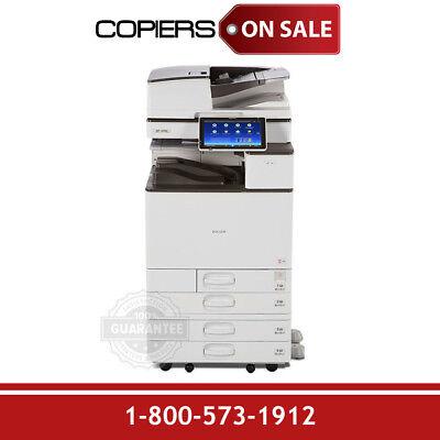 Ricoh Aficio Mp C3004 Color Copier For Sale Low Meter Count