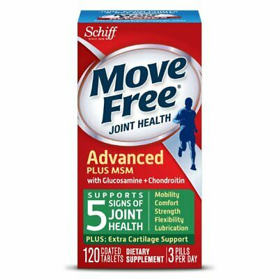 Move Free Advanced Plus MSM, 120 tablets - Joint Health Supp