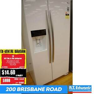 LG 567L Side By Side Refrigerator with Warranty Booval Ipswich City Preview