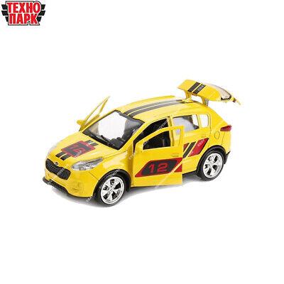 Tehnopark Diecast Vehicles Honda Accord Red Russian Toy Cars 12 cm