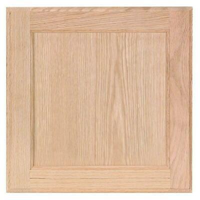 Hampton Bay 14.5 x 14.5 in. Cabinet Door Sample in Unfinished