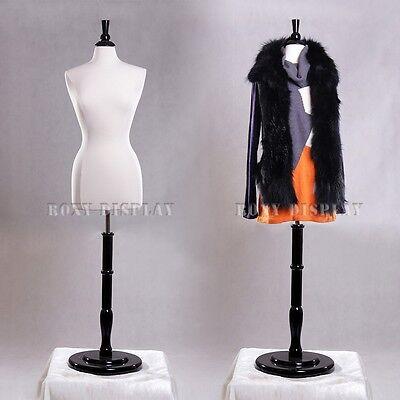 Female Size 6-8 Mannequin Manikin Women Dress Form F68wbs-r02b