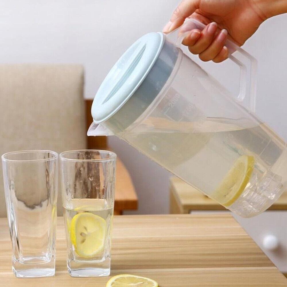Water Kettle Beverage Teapot Heat Resistant Juice Pot for Restaurant with Lid