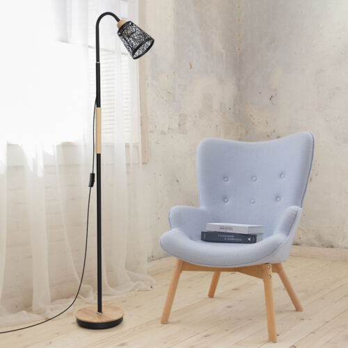 Modern Tall Standing Lamp 360° Adjustable Gooseneck Lamps C