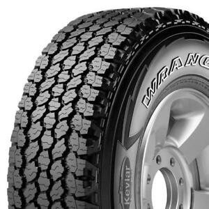 (only 2) LT235/80R17/10 GOODYEAR -wrangler A/T adventure kevlar  ---- 198$each summer / winter