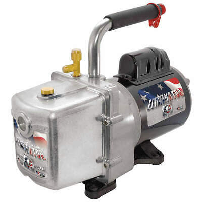 Jb Industries Dv-6e Refrig Evacuation Pump6.0 Cfm6 Ft.