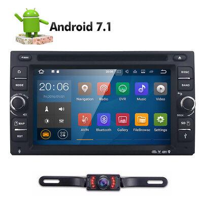 "HD GPS Navi Android 7.1 WIFI 6.2"" 2 DIN Car Radio Stereo DVD Player Dual Zone"