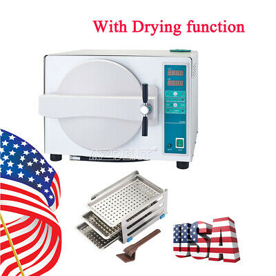 18l Dental Autoclave Steam Sterilizer Medical Sterilizition Drying Function 110v