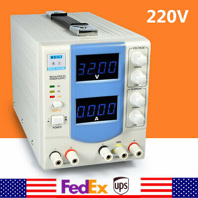 Mch-305db Adjustable Dc Power Supply Accurate Display Output 0-32v 0-5a Led Test
