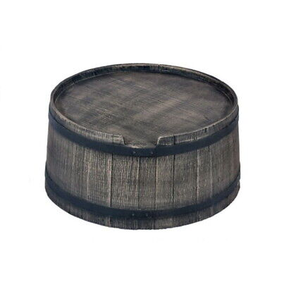 Stand for Roto Water Barrel 120L - Wood-Effect Style - Free UK Delivery
