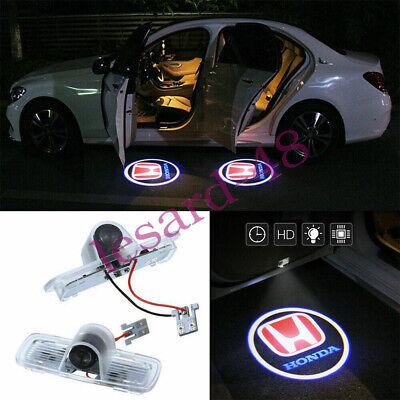 2x LED lights Car Laser Door Projector logo Kit For Honda Crosstour Accord Pilot