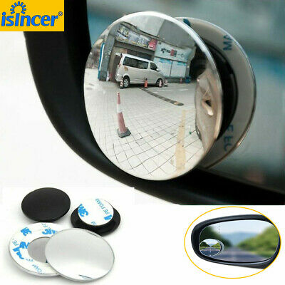 360 ° Degree Wide Angle Round Convex Blind Spot Mirror For Parking Rear View