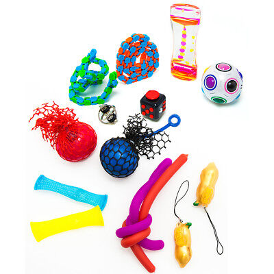 Toys For Autism (Fidget Sensory Stress Relief Hand Toys for Autism ADHD Dementia for)