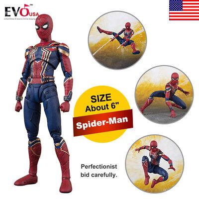 Toy Armor (6'' S.H.Figuarts Iron Armor Spider-Man PVC Action Figure Toy)