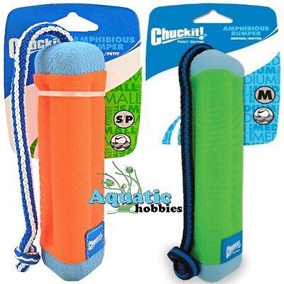 Chuckit! Amphibious Bumper Float & Tug Toy For Dog & Puppy (CHOOSE SIZE) Amphibious Bumper Dog Toy
