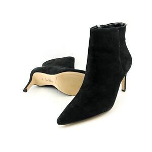 e76baf49bdd3e0 Sam Edelman Karen Suede Pointed Toe Boot Black Women Sz 6.5 M 1310 ...