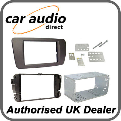 Seat Ibiza 08 on Nite Black Double Din Car Stereo Fitting Kit CT23ST06