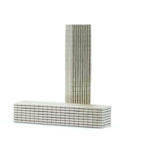 N35 4mm x 4mm x 2mm tiny strong Neodymium block magnets craft fridge SMALL PKS