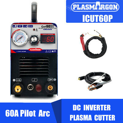 Igbt Pilot Arc Air Plasma Cutting Machine 60a 110220v -cnc Compatible Wsd60p