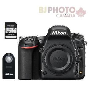 NIKON D750 BODY + BUNDLE SPECIAL