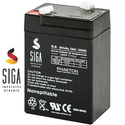 Akku 6V 5Ah 4,0Ah 4,2Ah 4,5Ah 4Ah Wiederaufladbare USV Batterie Accu LC-R064R5P