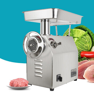 Commercial Electric Meat Grinder 1800w 350kgh 770lbsh Meat Grinder Stainless