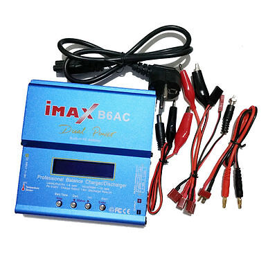 iMAX B6AC Ladegerät ChargerDischarger 80w Watt LiPo NiCd NiMH 1S-6S 6A DE NEU