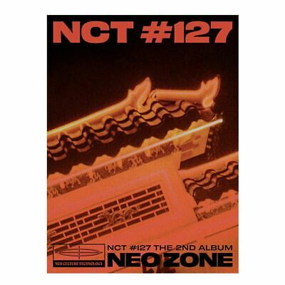 NCT127 NCT #127 Neo Zone 2nd Album T Ver CD+Photobook+Photocard+Etc+Tracking