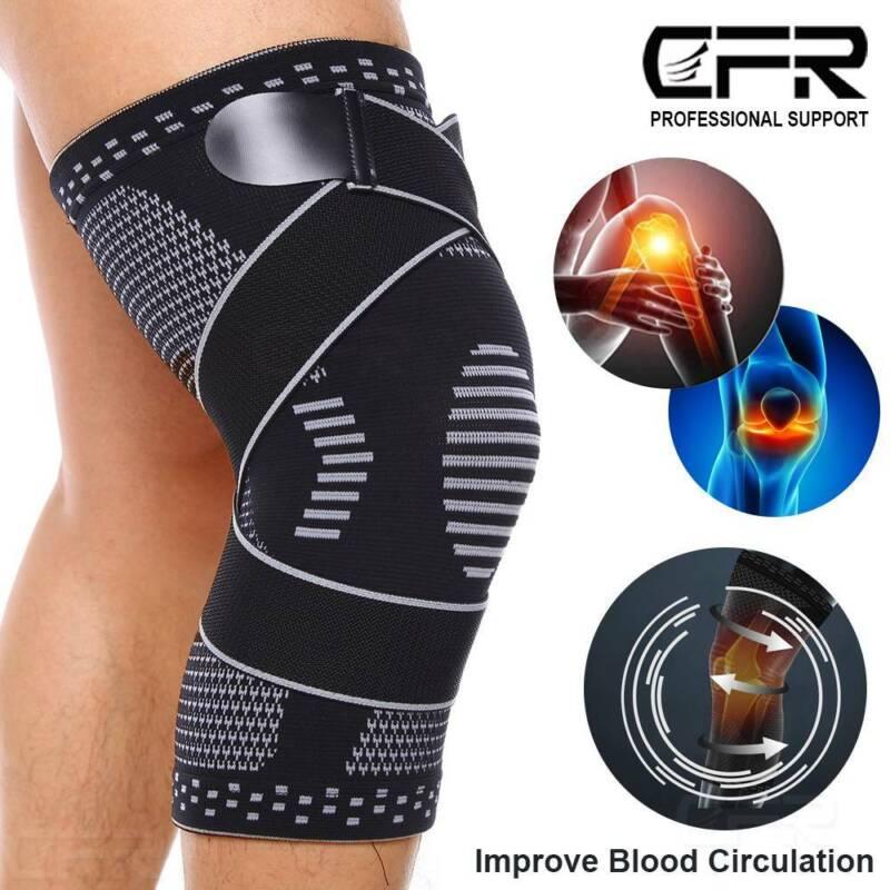 Copper Knee Brace Sleeve Patella Support Stabilizer Sport Jo