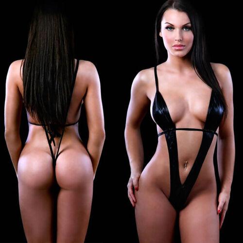 Womens Super Sexy Lingerie Black Erotic Lingerie Teddy Underwear