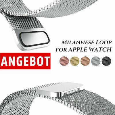 Edelstahl Armbänder Uhrenarmband für Apple Watch iWatch Serie 5 / 4 / 3 / 2 / 1
