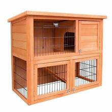 Double Storey Rabbit Hutch with Fir Wood Construction Spearwood Cockburn Area Preview