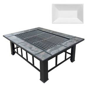 AUS FREE DEL-Outdoor Fire Pit BBQ Table Grill Fireplace, Ice Tray Sydney City Inner Sydney Preview