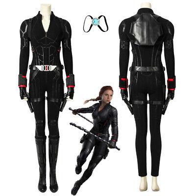 Avengers Endgame Natasha Romanoff Black Widow Cosplay Costume Version 1 (Black Widow Cosplay)