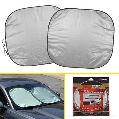 Auto Windshield Sunshade Reflective Sun Shade for Car Cover Visor Standard (Windshield Visors For Cars)