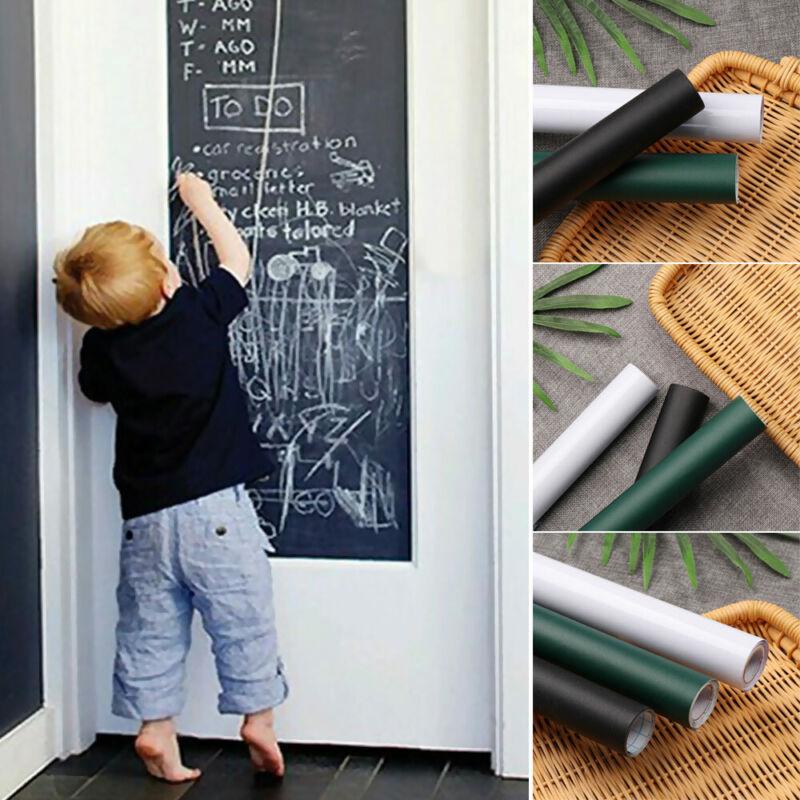 Wallpaper Erasable Vinyl Wall Decal Whiteboard Blackboard Sticker Chalkboard