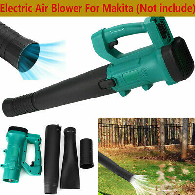 Cordless Electric Air Blower Handheld Cordless Leaf Blower Tool For 18V Makita