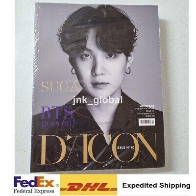 BTS D-icon vol.10 BTS goes on! - Suga Edition DICON Magazine + Express Ship