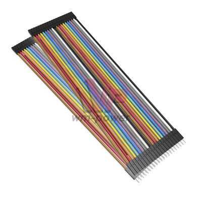30cm 40pin Dupont Male To Female Wire Jumper Cables For Arduino