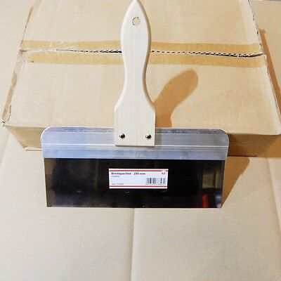 869: Breitspachtel 25 cm Naturholzheft rostfrei Fassadenspachtel Flächenspachtel