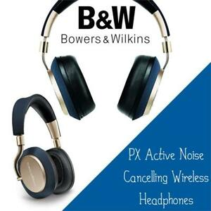 NEW Bowers  Wilkins PX Active Noise Cancelling Wireless Headphones, Best-in-class Sound, Soft Gold Condtion: New, Sof...