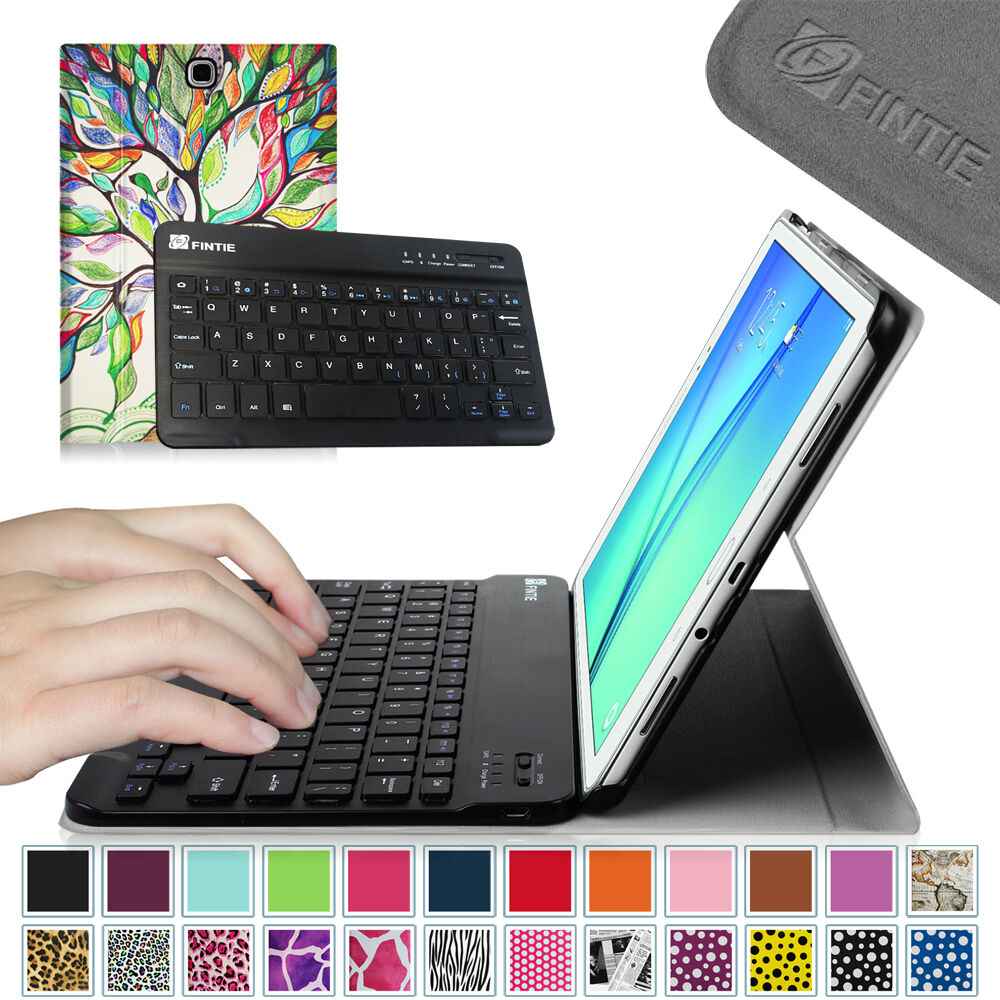 Bluetooth Keyboard Slim Leather Stand Cover Case for Samsung Galaxy Tab Tablet